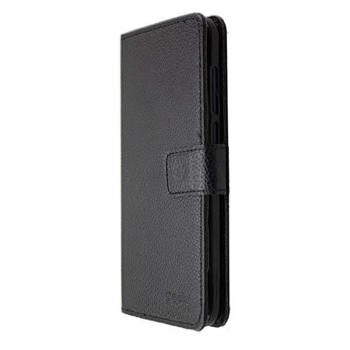 caseroxx Tasche für Archos Access 57 Bookstyle-Hülle in schwarz Cover Buch