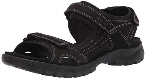 ECCO Women's Onroads 3-Strap Sport Sandal, BLACK, 7-7. 5