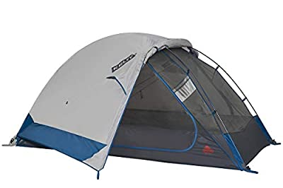 Kelty Night Owl Backpacking and Camping Tent (Updated Version of Trail Ridge Tent) - Lightweight Design Plus Oversized Doors with Spacious Interior, 4-Person