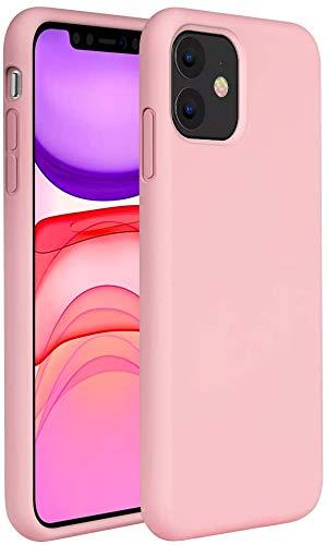 """Capa Tpu Fosca Para Iphone 11 com Tela de 6.1"""" Polegadas - Capinha Case De Proteção Ultra Fina Slim Material Silicone Fosco (Rosa)"""