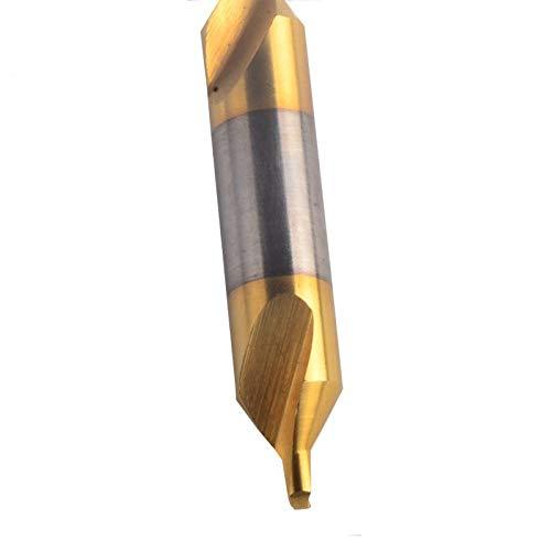 NON-BRAND WNJ-Tool, elektrische HSS-combinatie centreerboor verzonken bitset draaimolen 60 graden hoek