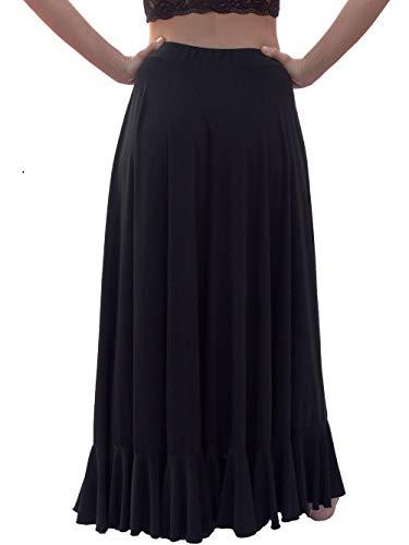 Menkes Falda Baile Flamenco Viscosa de Peso Mujer Talla XL