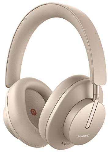 HUAWEI FreeBuds Studio, Kabellose Intelligent Dynamic Active Noise Cancellation Kopfhörer mit Bluetooth, Hochauflösende Musik und schnelle Aufladung, Blush Gold + 5 EUR Amazon Gutschein