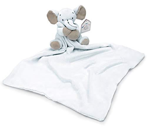 Mousehouse Gifts Blau Elefante Baby Schmusetuch Schnuffeltuch für Jungen
