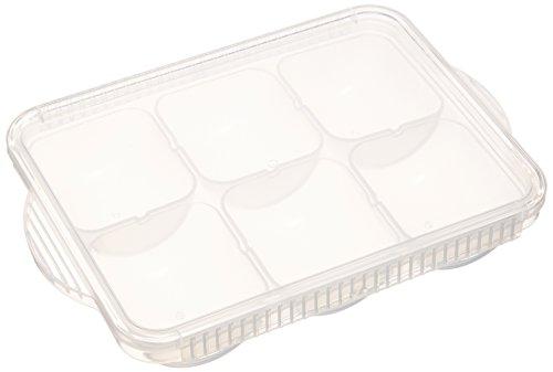 SKATER 離乳食 冷凍 小分け 保存トレー 50ml×6個取り TRMR6