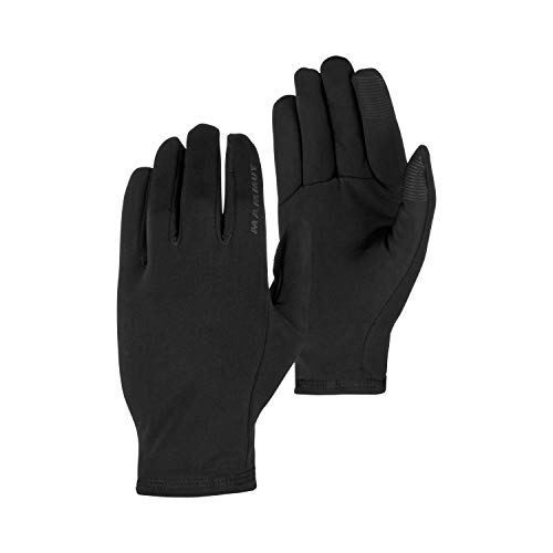 Mammut Stretch Handschuhe, Black, 11