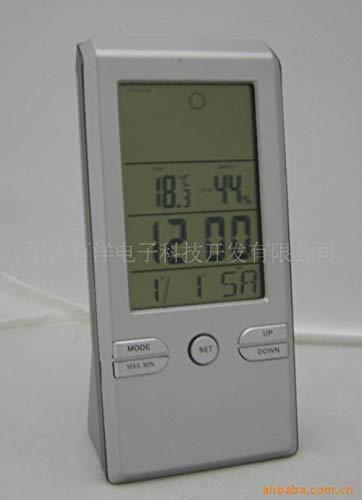hlyhly Elektronische weerklok Thermo-hygrometer LCD digitale mute