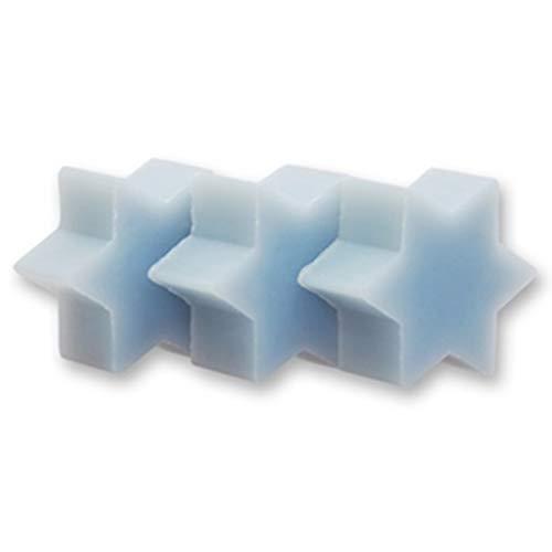 10 étoiles de savon - ICEFLOWER - Savon au lait de brebis Florex - Cadeau d'invité - Remplissage du calendrier de l'avent