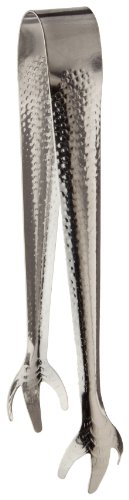 Adcraft TBL-7 Stainless Steel Claw-Style Ice Tongs, 8' Overall Length