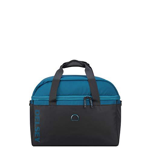 Delsey Paris EGOA Bolsa de Viaje 45 Centimeters 34,9 Azul (Blau)