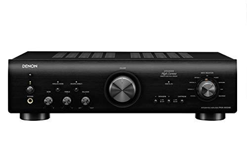 Denon PMA-800NE Amplificador estéreo integrado | Hasta 85 W x 2 canales | Preamplificador de fono integrado, modo analógico | potencia de corriente alta avanzada, color negro