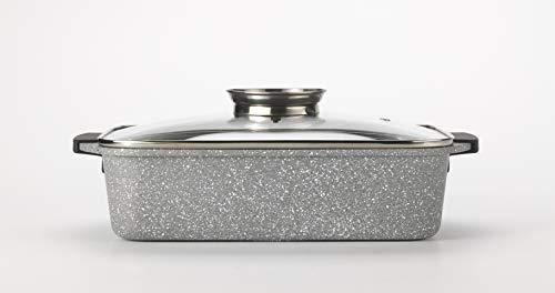 Q.B. LSGX35QB101 lasagne met deksel, gegoten aluminium