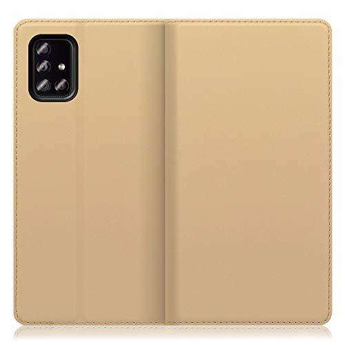 LOOF SKIN Slim Galaxy A51 5G SCG07 ケース 手帳型 カバー 極薄 ベルト無し カード収納 カードポケット 薄...