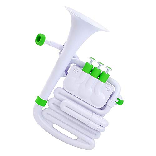 Nuvo Musical instrument, White/Green (N610JHWGN)