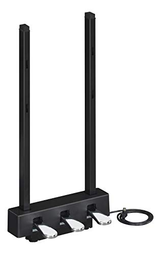 Yamaha LP-1B Pedaleinheit, schwarz – Transportable Pedale für das Yamaha P-125 & das P-121 Digital Piano – 1 x 3 Pedale