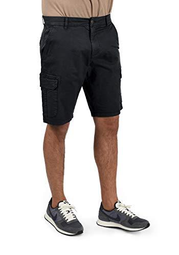 Blend Barni Herren Cargo Shorts Bermuda Kurze Hose, Größe:XL, Farbe:Black (70155)