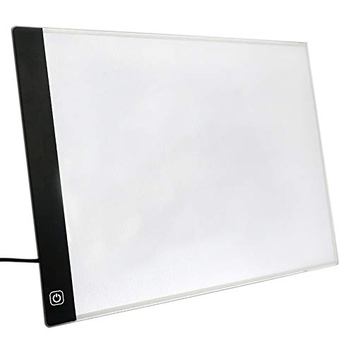 SODIAL Tablero De Dibujo Luz LED Tableta
