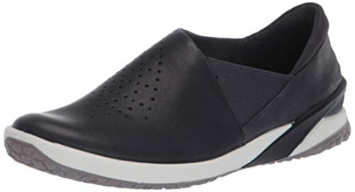 Ecco Damen BIOMLIFE Slip On Sneaker, Blau (Marine 1038), 37 EU
