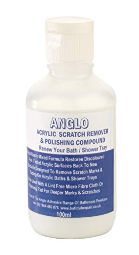Anglo Adhesives Premium Acrylic Scratch Remover & Polishing Compound