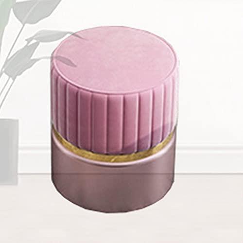 LXLAMP Reposapies Sofa, reposapies Salon reposapies Sofa pufs para Habitaciones Taburete Moderno del Maquillaje del Taburete del sofá de la Personalidad Creativa