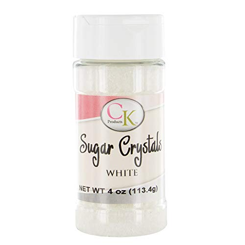 CK Products White Sugar Crystals 4 ounce Bottle
