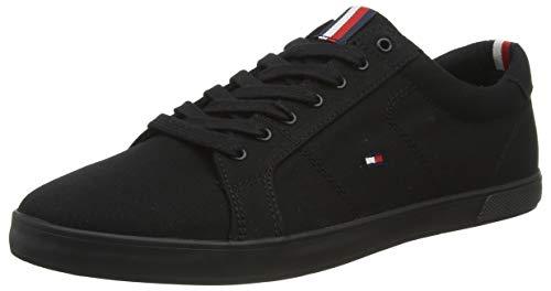 Tommy Hilfiger H2285ARLOW 1D, Zapatillas para Hombre, Black, 28 EU