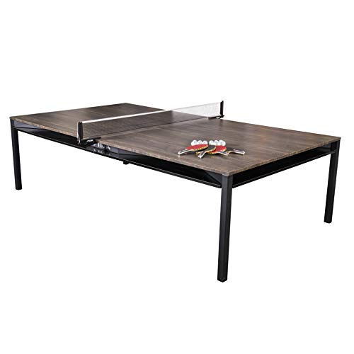 Why Choose STIGA Hybrid 3-in-1 Dining, Conference and Tennis Table Tennis Table – Black Base with Walnut Finished Top