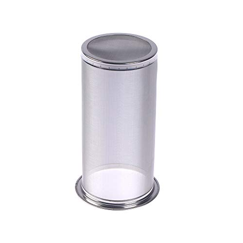 WSERE Jar Infuseur Fliltre Compatible avec Tous Les Bocaux à Col Large – Froid Brew Café Thé à la Maison – Filtre à Thé Acier Inoxydable Infuseur à Thé Passoire à Thé