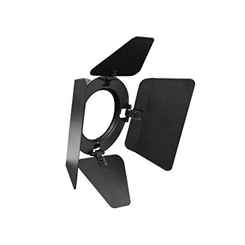 Odyssey Cases LSPAR16BDB | Black Barn Door for PAR 16 Odyssey Light Fixtures