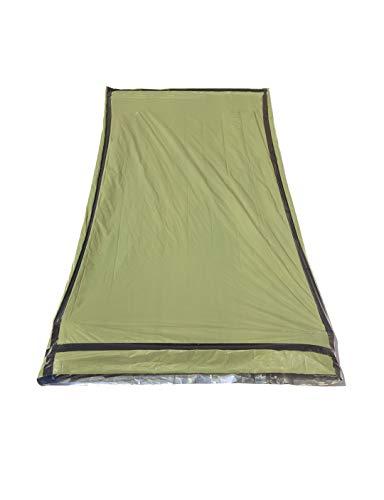 SE Survivor Series Army Green Reusable Bivy Sleeping Bag - EB122GN
