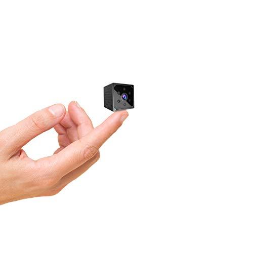 Cámara Espía, AOBO 4K HD Mini Camara Oculta WiFi para Ver en...