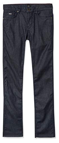 Hugo Boss Boss Delaware Slim Fit Jeans elásticos para Hombre, Azul, 38W x 32L