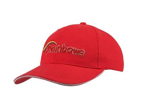 Rainbows - Casquette de Baseball - Homme Rouge Rouge Taille unique