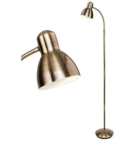 Flexible Floor Standing lamp (Antique Brass)