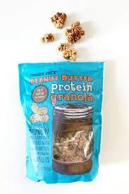 Trader Joe's Peanut Butter Protein Granola Crunchy 12 oz (Case of 4)