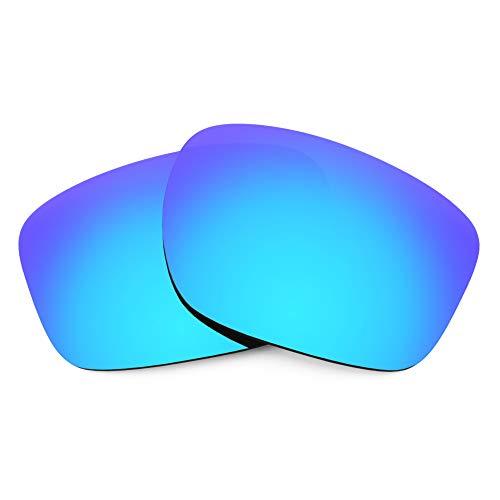 Revant Lentes de Repuesto Compatibles con Gafas de Sol Oakley Sliver F, Polarizados, Azul Hielo MirrorShield