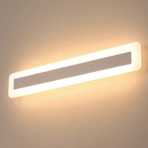Yafido LED 14W Badleuchte 900Lumen 40CM 230V 3000K IP44 Spiegelleuchte Badlampe Spiegellampe Warmweiß badezimmer Schrankleuchte Wandlampe Wandleuchte