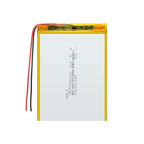 1pcs Batería Recargable De Iones De Litio De PolíMero De 3.7v 407095...