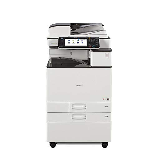 Refurbished Ricoh Aficio C2503 Color Multifunction Copier - A3, 25 ppm, Copy, Print, Scan, 2 Trays with Stand (Certified Refurbished)