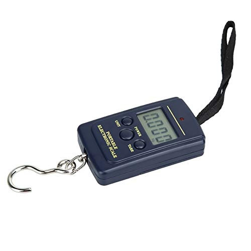 Kitchen Weighing Tool Mini Digital Fishing LCD Crane Scale, Travel Scale Steelyard Hanging Electronic Hook Scale, Size: 40kg * 10g, Easy To Use