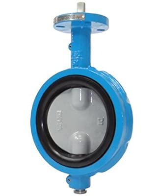 """2"""" Max-Seal Butterfly Valve Wafer Ductile Iron Body 316SS Disc EPDM Seat Lever by Max-Seal"""