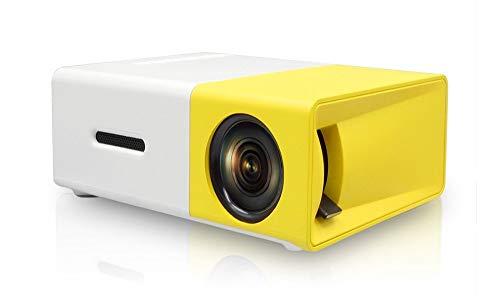 NAISHA YG-300 Mini Portable (600 Lumens Video 1080P)High Resolution LED Projector
