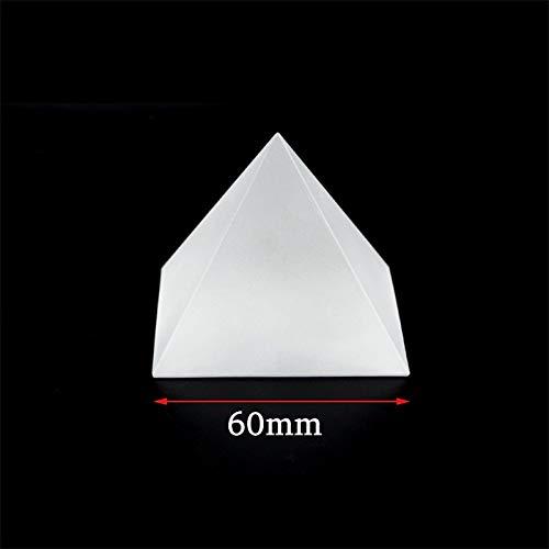 NLLeZ 1 unid Helada K9 Cristal de Cristal Bola de Lente de Cristal Egipto Pirámide óptica Prism Cube Geometría Cílicar Coneo Papel Papel Papel Decoración de Hogar Lensball Globo