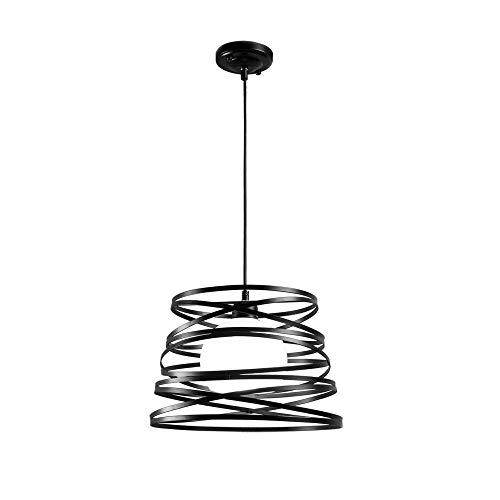 Moderno LED luci pendente attrezzatura Nordic idilliaco loft retrò vento industriale lampadari in ferro minimalista moderno