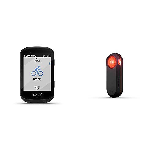 Garmin Edge 530, Performance GPS Cycling/Bike Computer with Mapping, Dynamic Performance Monitoring and Popularity Routing & Varia RTL510, Bike/Cycling Radar Tail Light