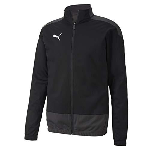 Puma Herren teamGOAL 23 Training Jacket Trainingsjacke, Black-Asphalt, L