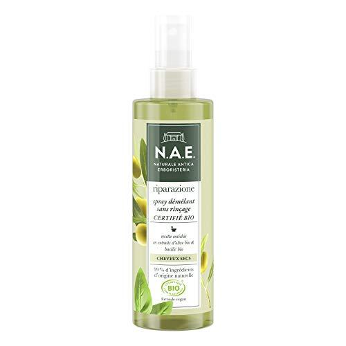 N.A.E. - Spray Démêlant Cheveux - Cheveux Secs - Sans Rincage - Certifié Bio - Formule...