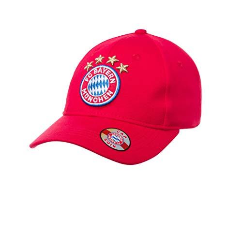 FC Bayern München Kids Cap (one Size, rot)