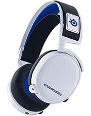 SteelSeries Arctis 7P ワイヤレス サラウンド ゲーミングヘッドセット ロスレス 低遅延 PS5/PS4/Switch/PC対応 【國內正規品】