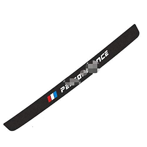 LHRLBB CocheFibra Carbono Protección para Parachoques, para BMW 1-7 Series X1-7 F15 F16 F30 F31 F48 G30 E39 Resistente Arañazos Strip Sticker Decorativas Accessories